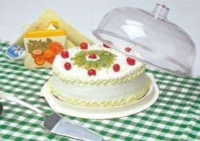 Plastic Dish Dome(Multipurpose) Set of-1[Clear]