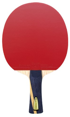 Butterfly, Racchette da ping-pong, Nero (schwarz/red), Taglia unica