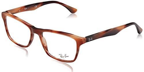 Ray-Ban Herren 0RX5279 Brillengestelle, Braun (Horn Pink Brown), 55