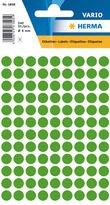 HERMA Multi-Purpose Labels Ø 8mm Dark Green 540Pcs.