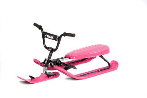 Stiga Sports Rennrodel SX Pro PINK, schwarz-pink, 120x50x37