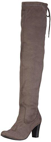 Caprice 25540 - Stivali Alti da Donna Grigio (Dark Grey 205)