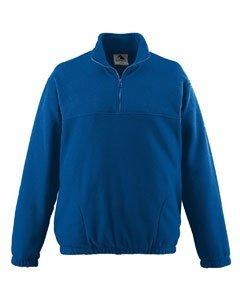 Augusta Sportswear Men'S Chill Fleece Half Zip Pullover 3Xl Royal