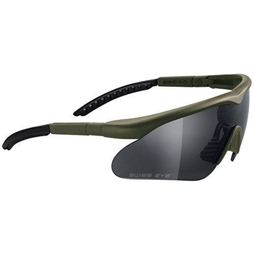 Swiss Eye Raptor Brille Oliv Rahmen