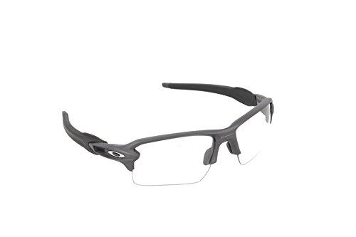 Oakley Herren Sonnenbrille Flak 2.0 XL Grau (Acero), 0