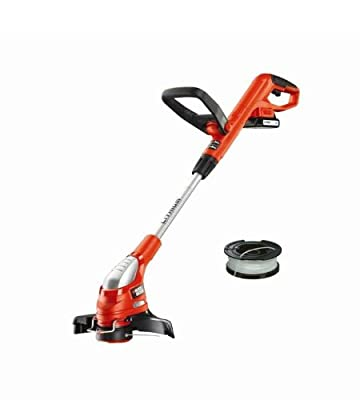 Black + Decker GLC1825LKIT Akku-Rasentrimmer-Kit, 18 V Li-Ion