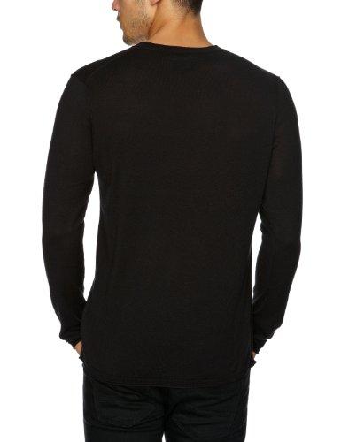 Cottonfield - Pull - Homme Noir (Black)