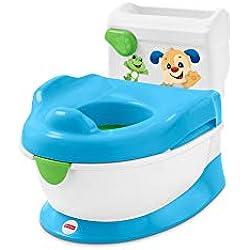 Fisher-Price Orinal aprende con Perrito, orinal bebé +1 año (Mattel FRG80)