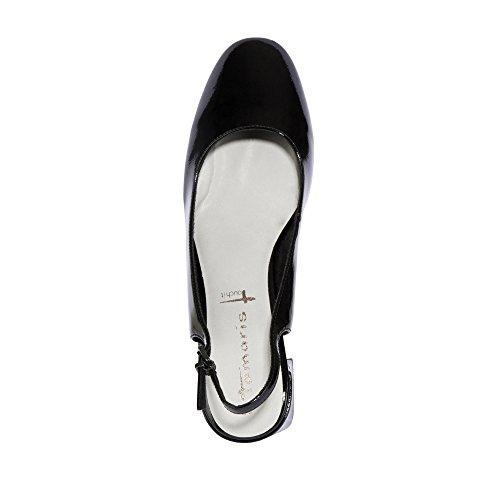 Tamaris  1-1-29604-28 954, chaussures compensées femme Noir