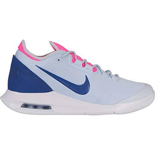 Air Max Tennis Shoes (Nike Damen WMNS Air Max Wildcard Hc Tennisschuhe, Blau (Half Blue/Indigo Force-White-P 441), 39 1/3 EU)