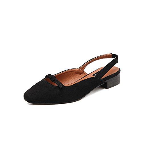 A & Ndiug00082 - Chaussures Fermées Pour Femme Noire