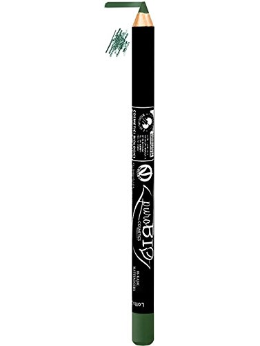 Lapiz de Ojos Ecologico Verde puroBIO 06