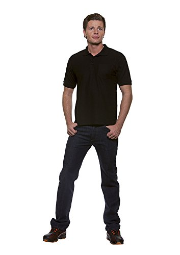 Poloshirt Basic Schwarz