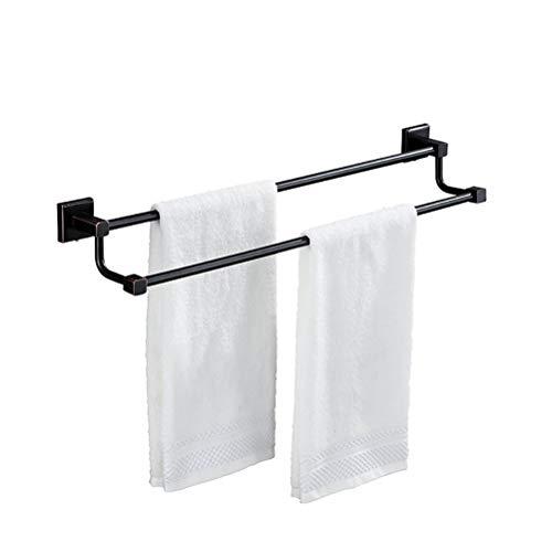 Kupfer Matt Handtuchhalter (LUTAP Kupfer Schwarz Matt Handtuchhalter Bad Hardware Zubehör Handtuchhalter Zweipolig Rack)