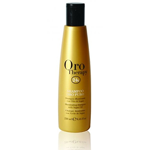 oro therapy 24k shampoing illuminant huile argan 250 ml