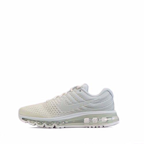 NIKE Womens Air Max 2017 Running Trainers 849560 Sneakers Shoes (UK 4 US 6.5 EU 37.5, Phantom Off White 005) (Nike Air Max Womens Running)