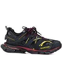 Balenciaga Hombre 542023W1GB16162 Negro Cuero Zapatillas