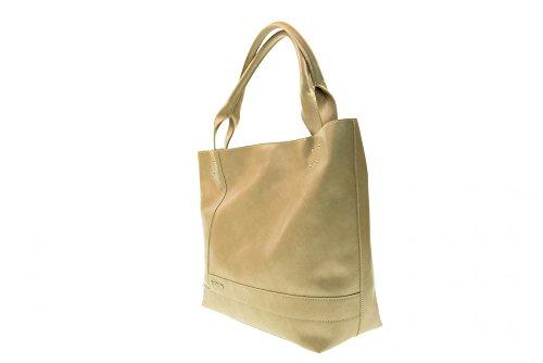 NERO GIARDINI femme sac à main avec P743418D embrayage interne / 410 sabbia
