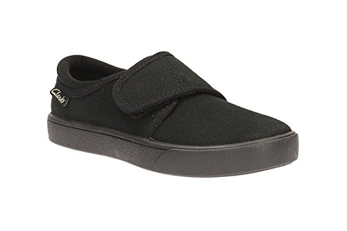 clarks-boys-seasonal-hopper-run-textile-plimsolls-in-black-standard-fit-size-7