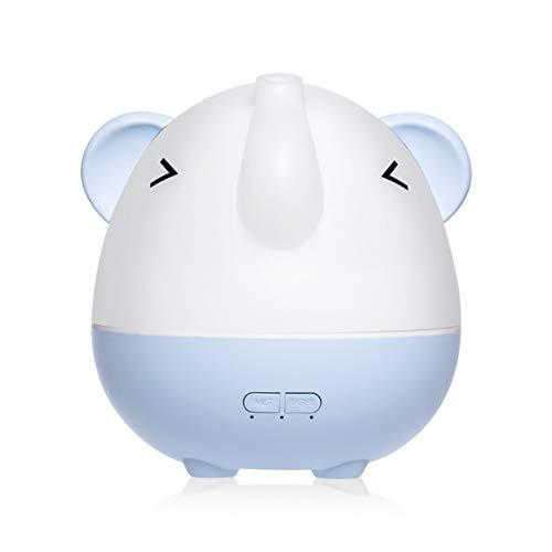 SamES Umidificatori Muji Creativo Aromaterapia del Fumetto di purificazione dell'Aria Auto Mini USB casa Silenzio Aromaterapia Macchina (Color : Blue)