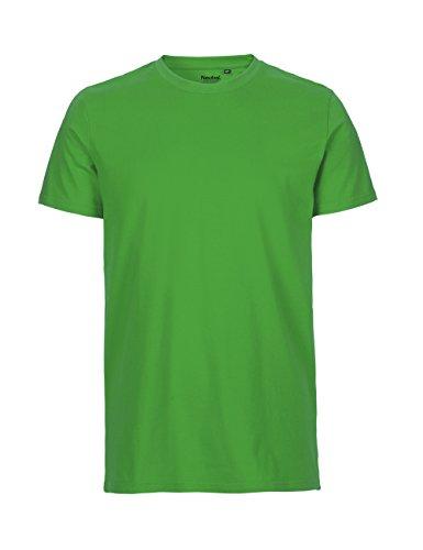 -Neutral- T-shirt, 100% Bio-Baumwolle. Fairtrade, Oeko-Tex und Ecolabel zertifiziert, Textilfarbe: grün, Gr.: XL