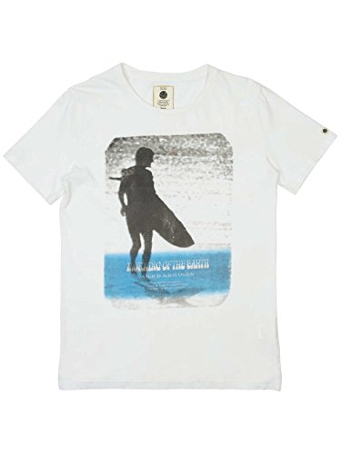 Herren T-Shirt Rip Curl Morning Of The Earth T-Shirt White/Blue