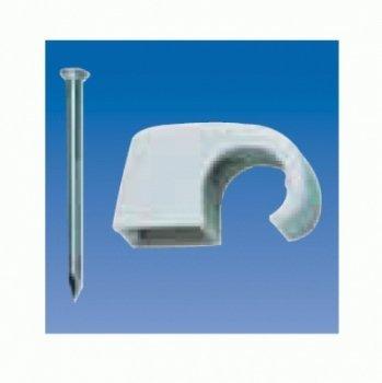 mit gestifteten Stahlnadeln 30 mm 50 St/ück Kopp 342606089 Iso-Schellen 4-7 mm braun