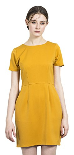 COMPAÑÍA FANTÁSTICA Emotions Mustard Dress, Vestaglia Donna, S
