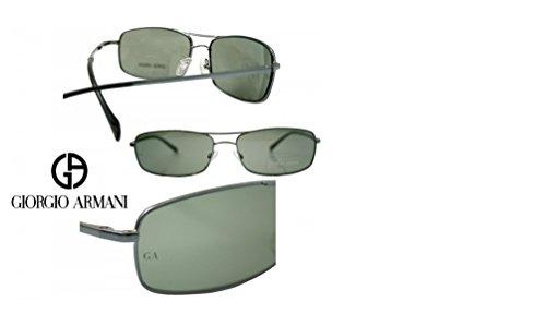 Sonnenbrille GIORGIO ARMANI-Gestell Metall blau-400/S