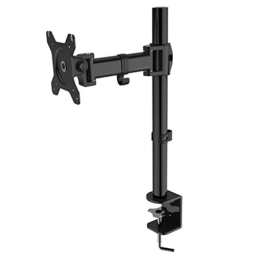 Duronic DM251X2 PC Monitor Arm Stand Desk Mount Screen Bracket Clamp Single LCD | LED |13