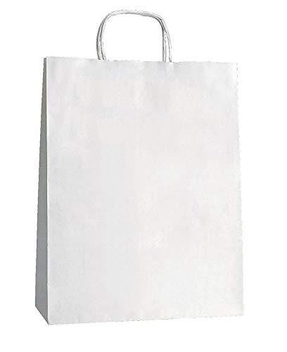 Yearol K05. 25 bolsas papel kraft blancas