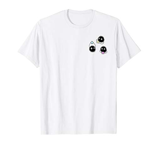 susuwatari soot sprites aesthetic cute anime pastel shirt