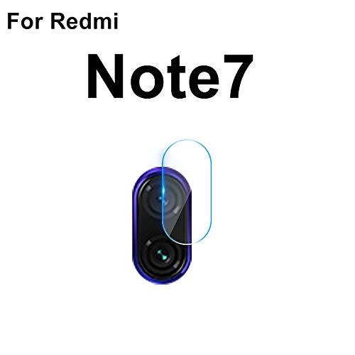 CTGVH Redmi Note7 Lente de la cámara 2.5D HD Anti-Scratch Vidrio Templado Protector de Lente de Alta definición Protector de Pantalla de Vidrio Transparente Película Transparente - 1pc