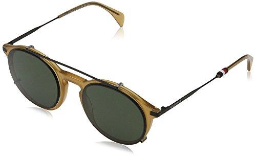 Tommy hilfiger th 1471/c 99 40g 50, occhiali da sole uomo, giallo (yellow/transparent)
