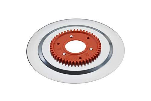 Schinkenmesser elektrolytisch poliert orange für RITTER Multischneider contura3, linea3, solida3, solida4 solida5, scalea5, E120, E130, FIF AS155