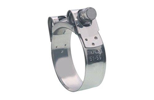 Damesa Supra W2 Collier de serrage en acier inoxydable 37-40 mm