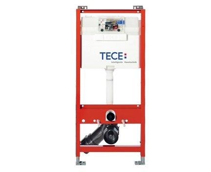 Preisvergleich Produktbild Tece Teceprofil WC-Modul mit Tece-Spülkasten, komplett vormontierte Einheit für die Befestigung an Profilrohren, WC-Modul mit Betätigung von vorne, Bauhöhe 1120 mm, Art.Nr. 9300000