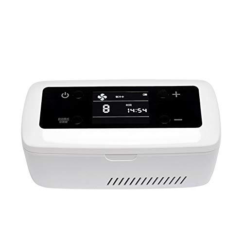 Scatola Refrigerata per Mini Frigo Portatile per Auto Caricabatterie Portatile Intelligente A Temperatura Costante Intelligente Mini Frigorifero (Size : No Battery)