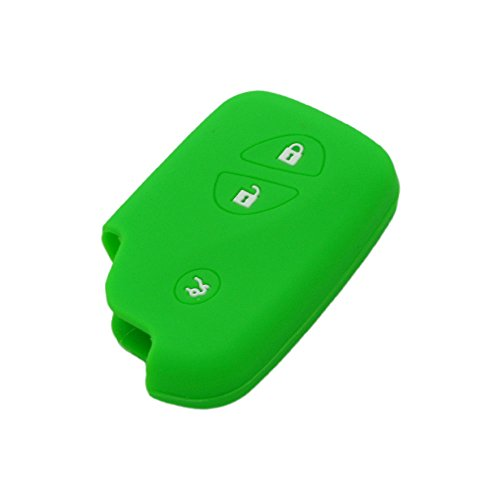 fassport-silicone-cover-skin-jacket-fit-for-lexus-smart-remote-key-cv3406-green