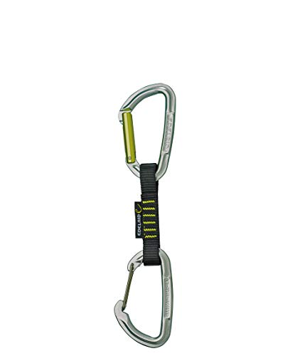 Edelrid Unisex - Erwachsene Express Set Slash Wire VPE5 Night-Oasis (219), 10 cm