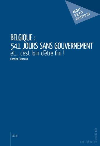 Belgique : 541 jours sans gouvernement: et... c'es...