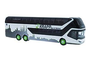 Rietze 69034Neoplan Skyliner 11KRAPP Viaje Bamberg-Modelo de autobús