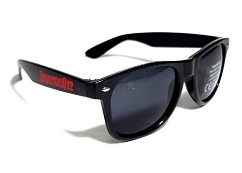 Jägermeister Sonnenbrille Wayfarer Nerd Brille UV 400 Schutz