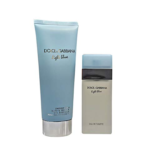 Dolce & Gabbana Light Blue 25ml Eau de Toilette mit 100 mL Bath & Shower Gel