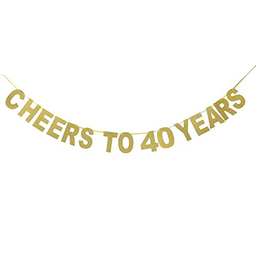 (Pepiona Buchstaben Sticker Alphabet Aufkleber Glitzer Alphabet Abziehbilder, Golden und Silbern Print Banner Jahre Flagge Dekoration für Geburtstag Hochzeitstag Feier Parteien)