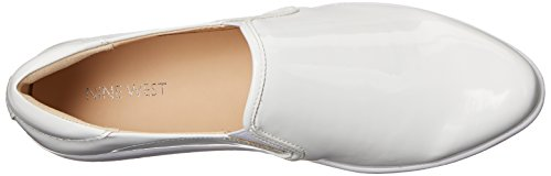 Nine West Lildevil Synthetic Fashion Sneaker White/White