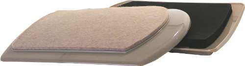 Shepherd Hardware 94315-5/8x 8-1/4-Zoll Schwere Pflicht, wiederverwendbar Filz Möbel Mover Pads, 4er Pack -