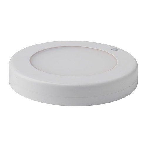IKEA STÖTTA LED Decken-/Wandleuchte in weiß; batteriebetrieben