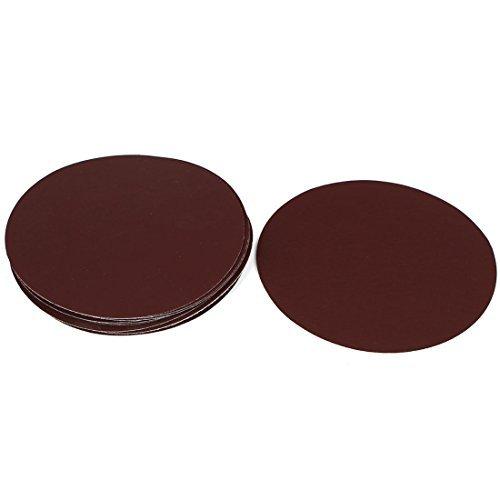 DealMux 6 Inch Durchmesser 1500 Grit Schleifklettschleifpapier Disc Schmirgelpapier 10pcs für Oszillationswerkzeug