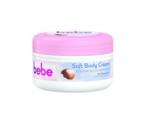 bebe Soft Body Cream, 6er Pack (6 x 250 ml)